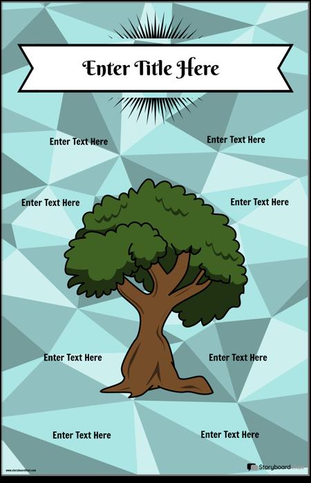 Дърво Котва Диаграма