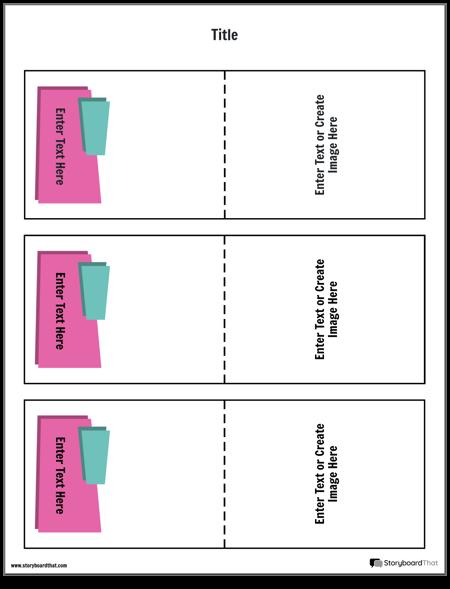 шаблон за флашкарти 5