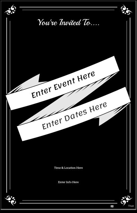 Плакат за Събитие 2