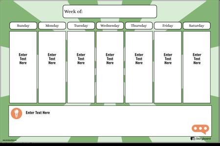 Седмичен Календар