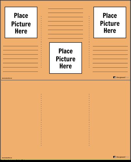 Плакат с Брошура 3
