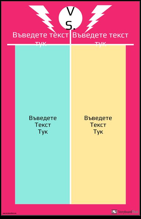 VS Анкерна Диаграма