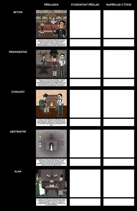 Nastiňovat Příklady   Druhy nastiňovat listu a šablony