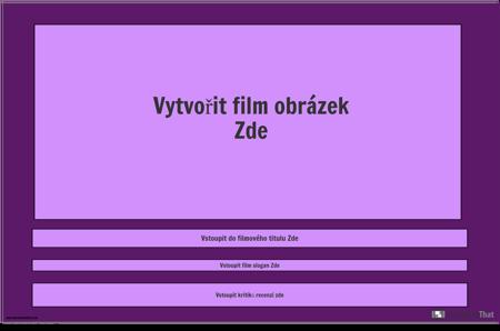 Šablona Filmového Plakátu, Krajina