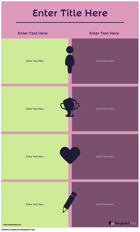 Srovnávací Infografika Šablona