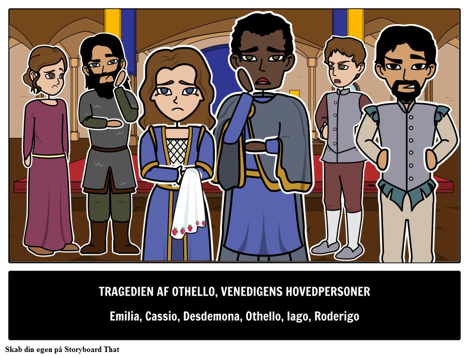 Othello Hovedkarakterer