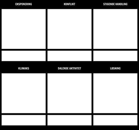 Story Outline Storyboard Skabelon