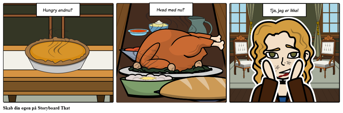 Thanksgiving - Hungry Card