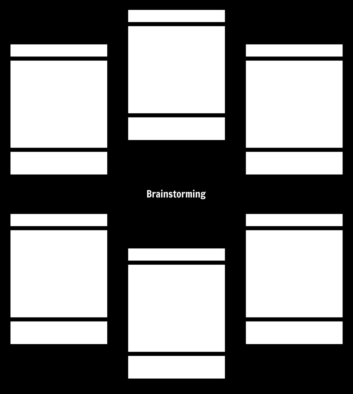 Brainstorming Vorlagen 3 Moglichkeiten Zum