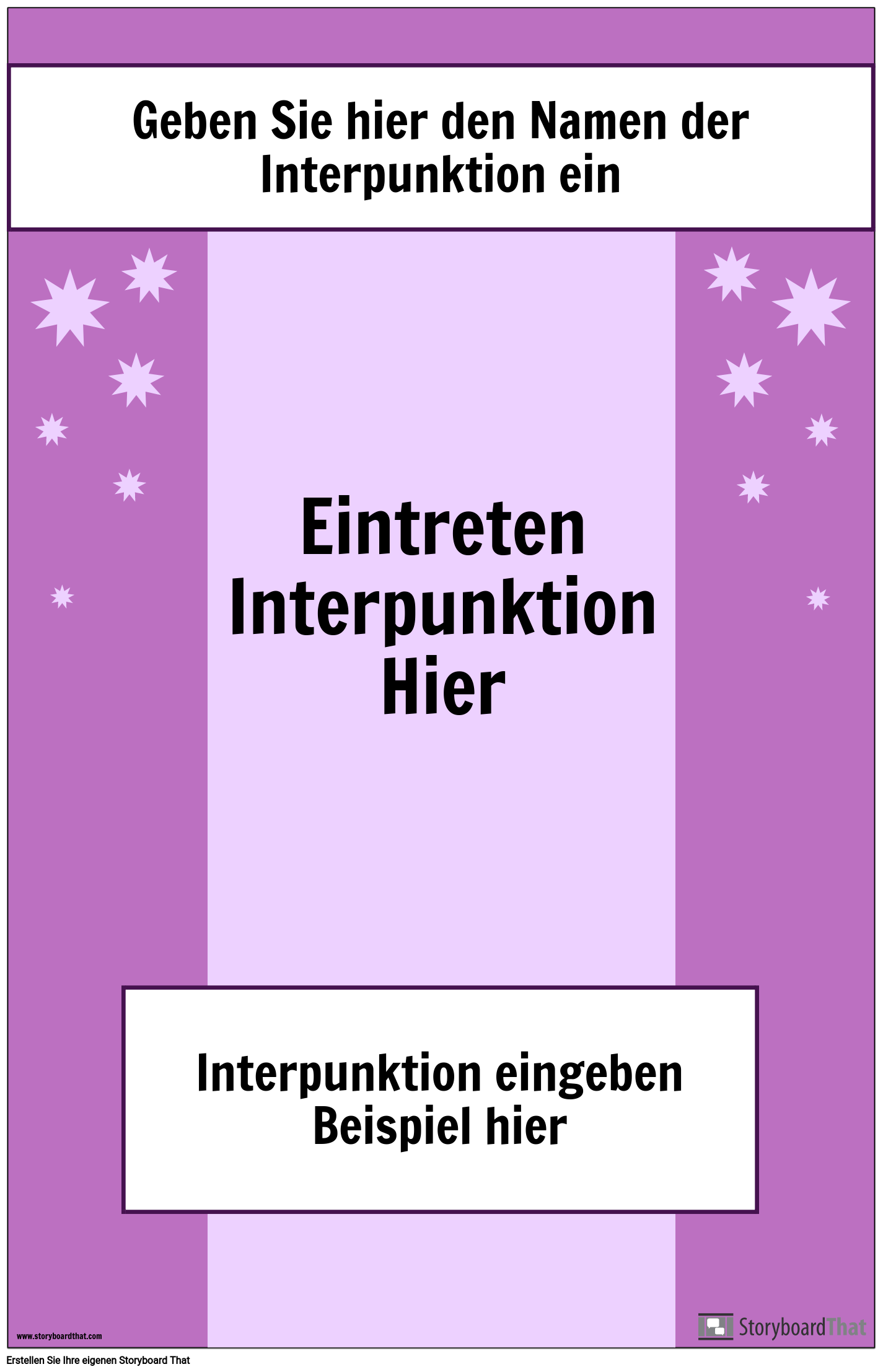 Interpunktionsplakat 2