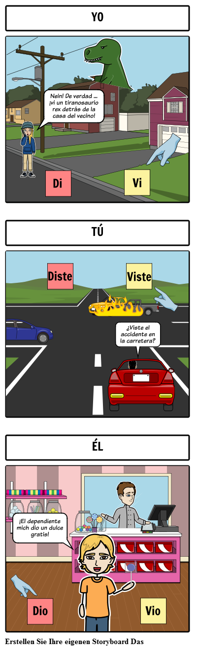 Spanisch Dar