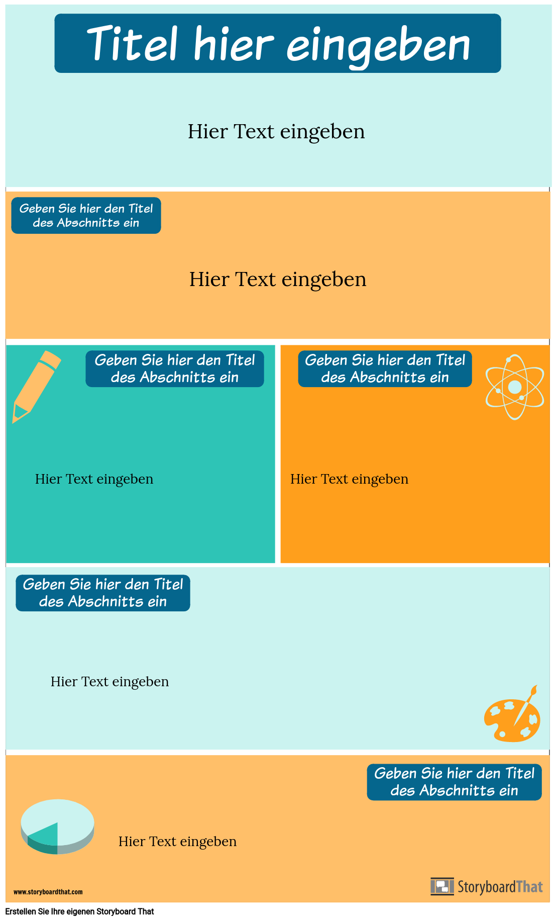 Strategien Infographik Vorlage