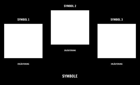 Symbolismus-Vorlage