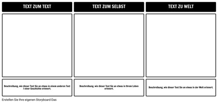 Textverbindungen Vorlage