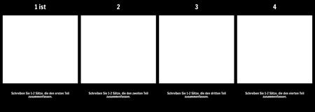 Zusammenfassung in 4 Teilen