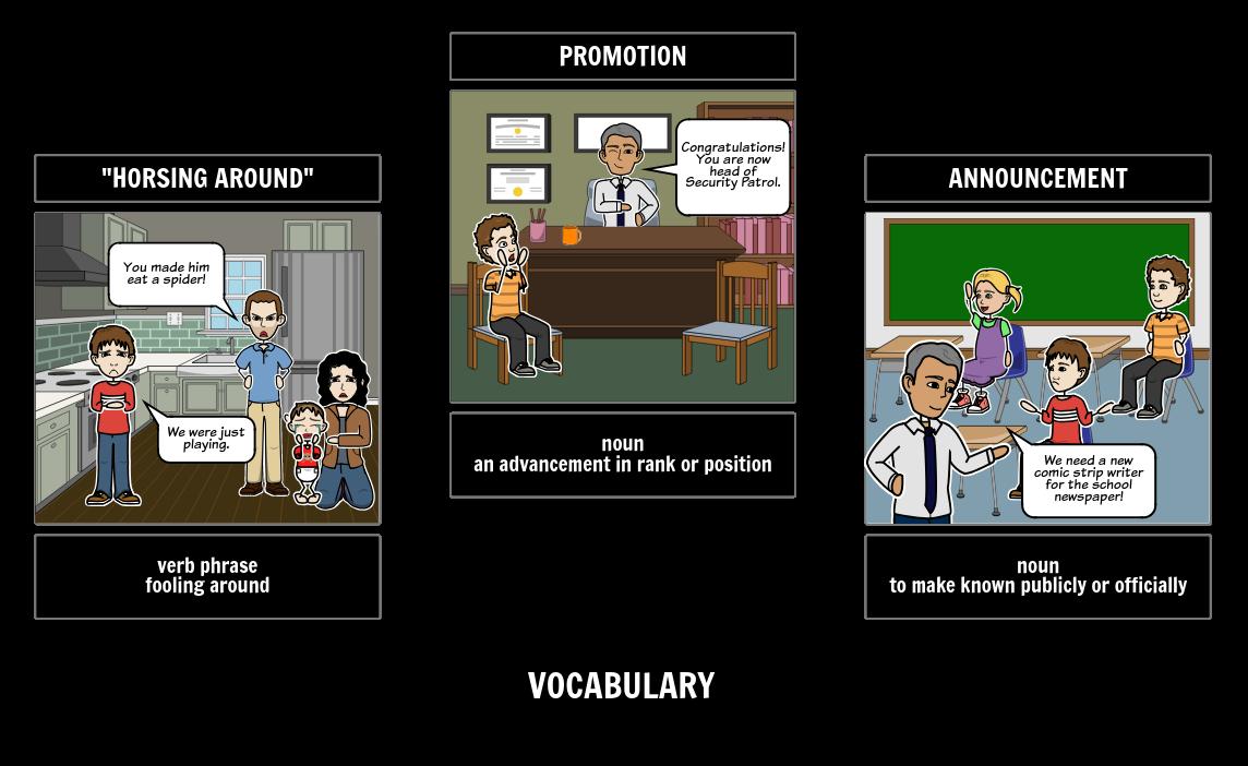 Diary Of A Wimpy Kid Vocabulary Activity