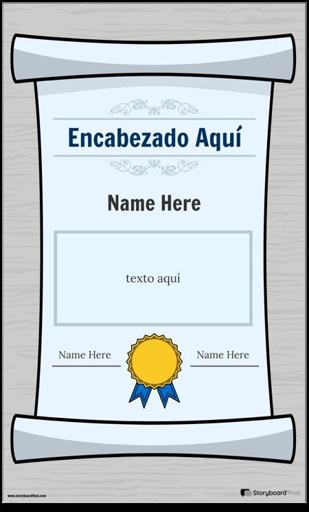 Cartel de Diploma 1