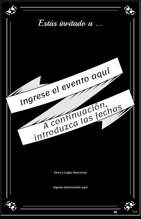 Cartel de Evento 2