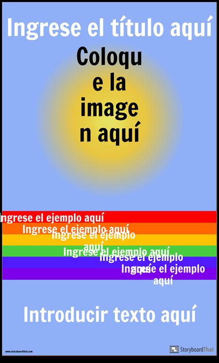 Cartel de Vocab Visual