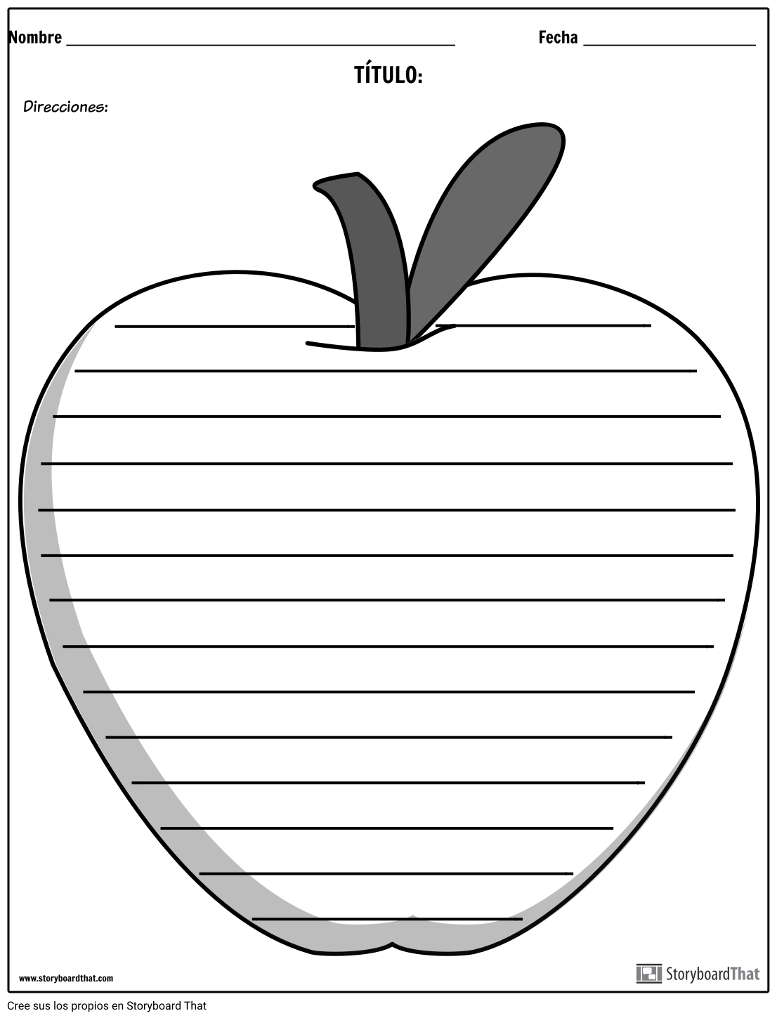 Escritura Creativa - Apple