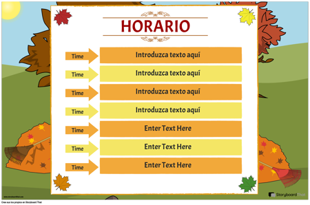 Horario de Clases 4
