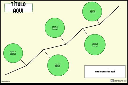 Línea de Tiempo Horizontal 2