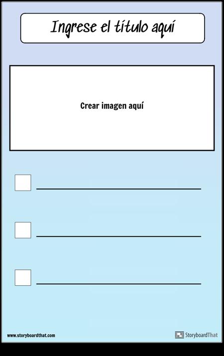 Lista de verificación con imagen