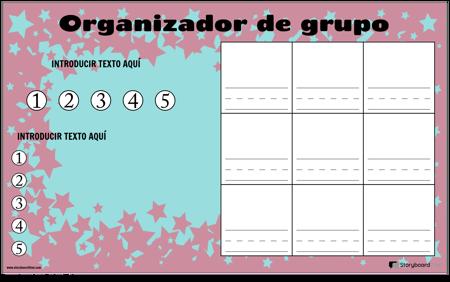 Organizador de Trabajo en Grupo