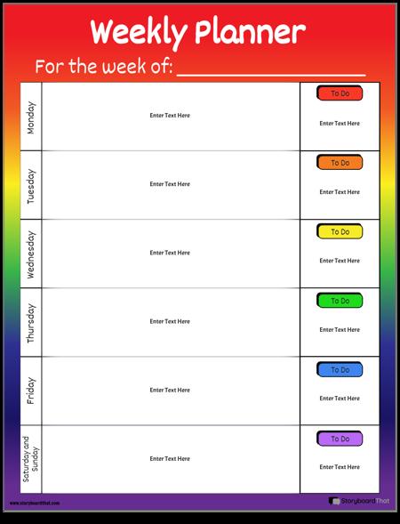 Planificador Semanal 2