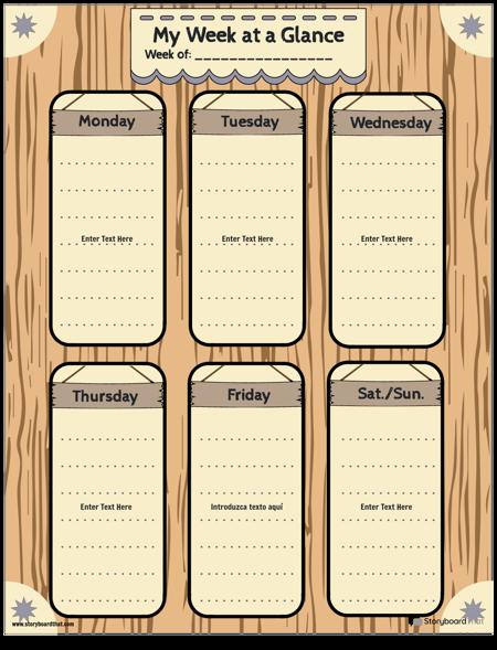Planificador Semanal 3