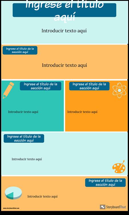 Plantilla de Infografía de Estrategias