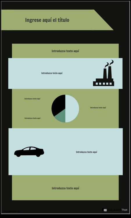 Plantilla de Infografía de PSA