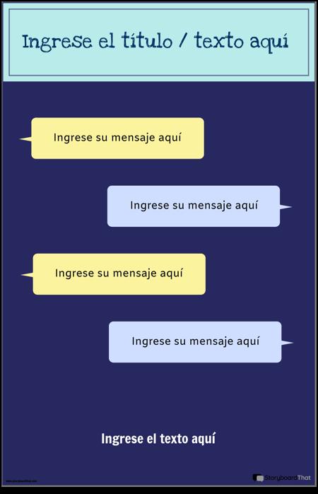 Plantilla de PSA Para Mensajes de Texto