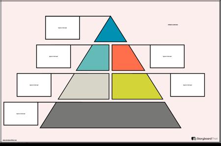 Póster Pirámide Alimenticia