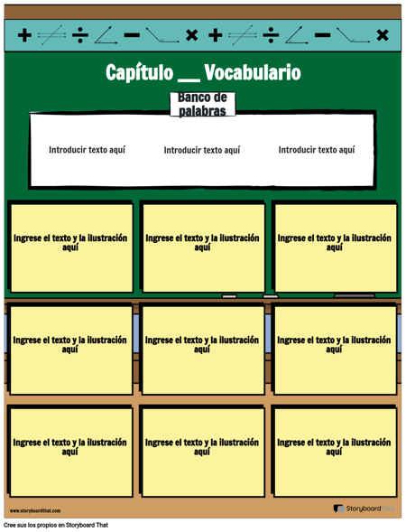 Vocabulario matemático 7