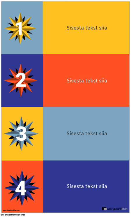 4 Blokeerib Infograafilise Malli