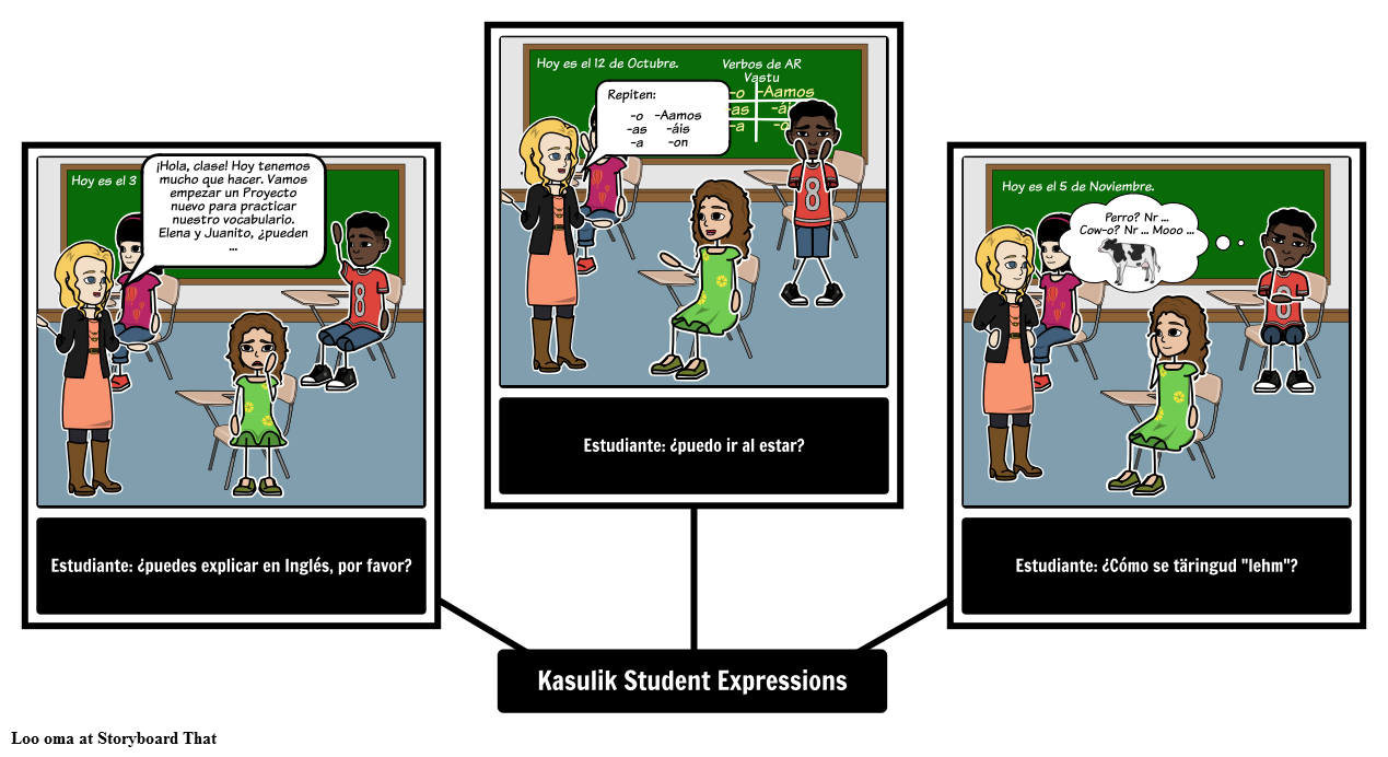Classroom: Student Expressions