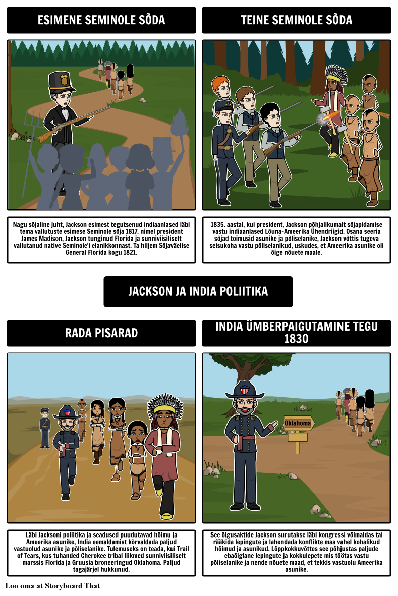 Jacksoni Demokraatia - Jackson ja India Policy