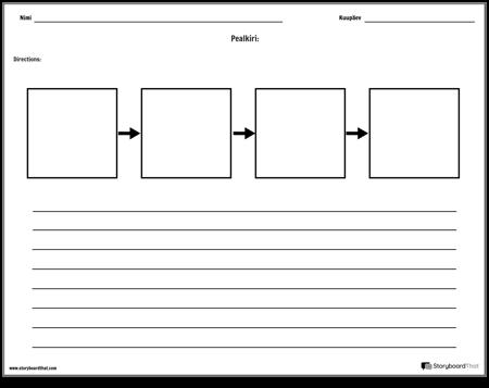 Järjestamise tööleht 1