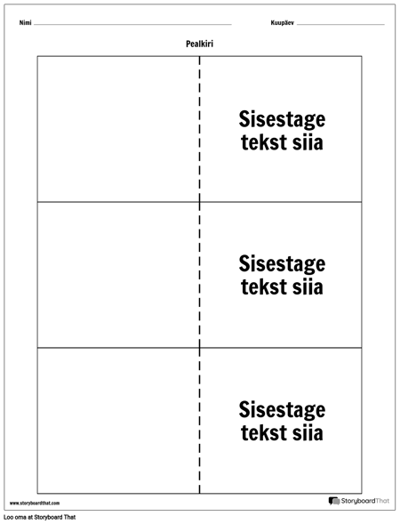 Kaardid - 3 Üles