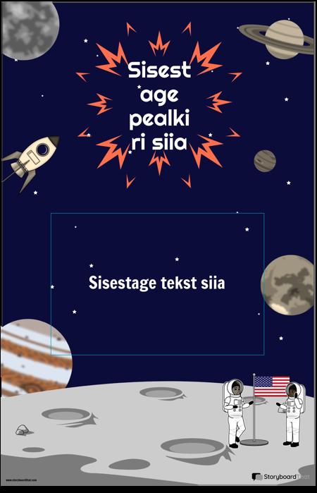 Kosmoseplakat 1