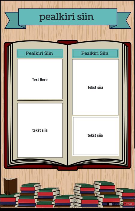 Raamatu Plakat 1