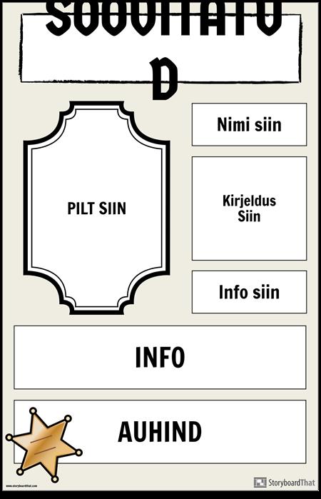 Soovitud Plakat 2