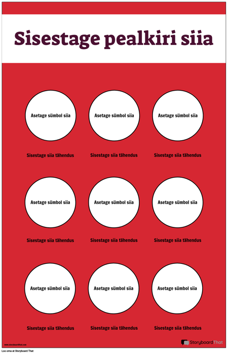 Turvasümbolite Plakat