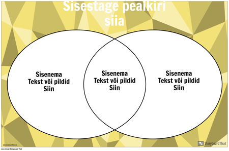 Venni Diagramm 2 Ringi