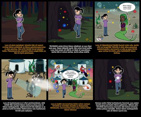 Halloween Toiminta - Story Starter