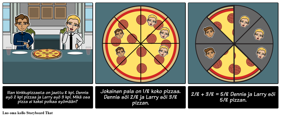 Jakeet - Eating Pizza
