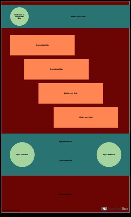 Vaihe Tyhjä Infografinen Malli