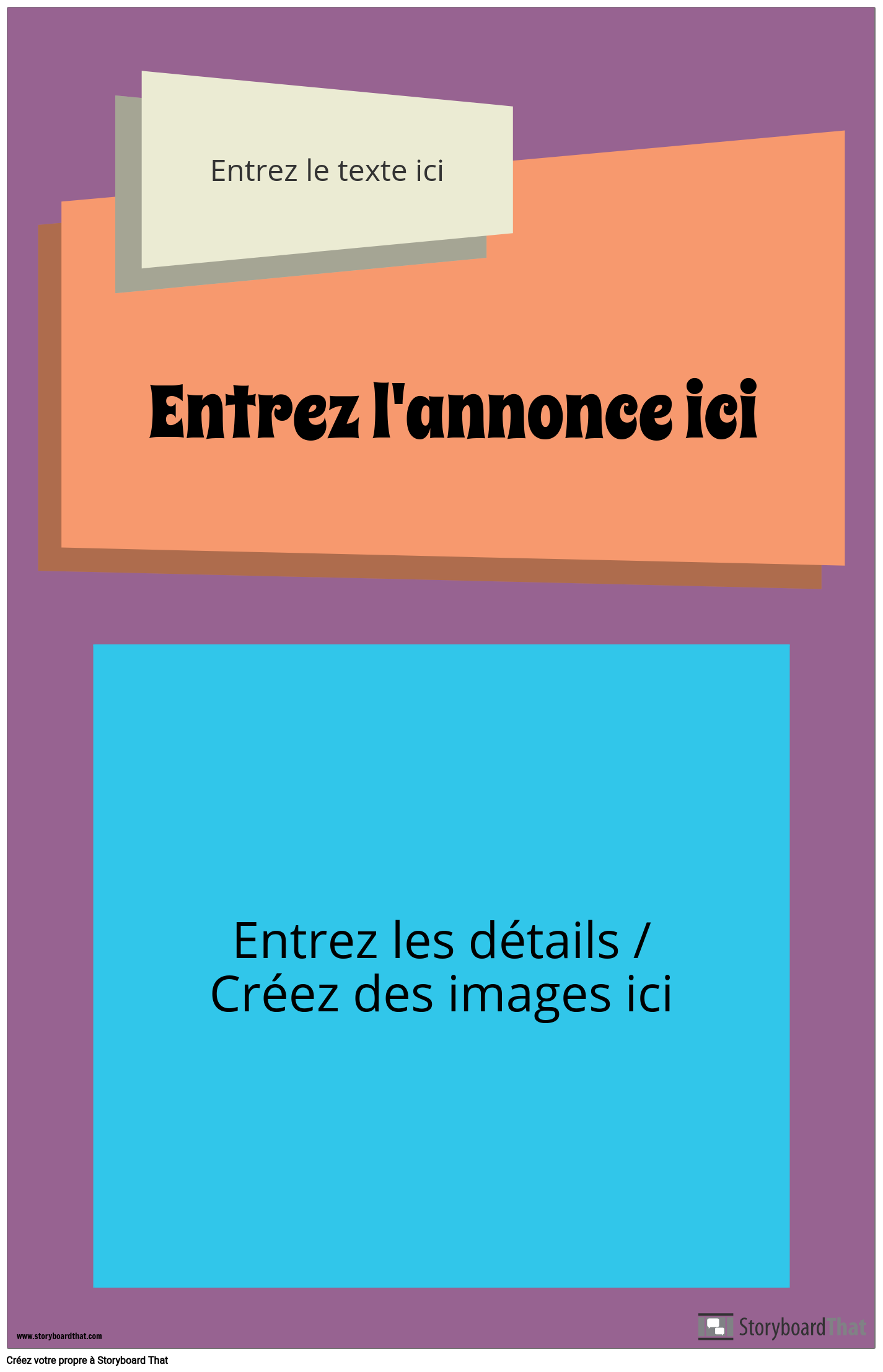 Affiche D'annonce Groovy