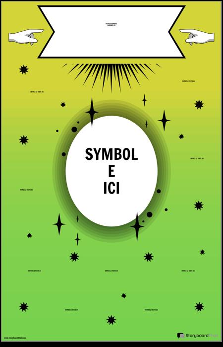 Affiche de Symboles Mathématiques
